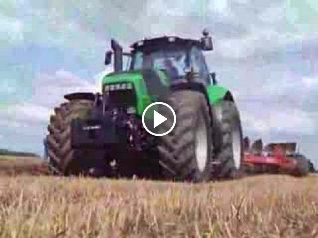 Video Deutz-Fahr Agrotron X