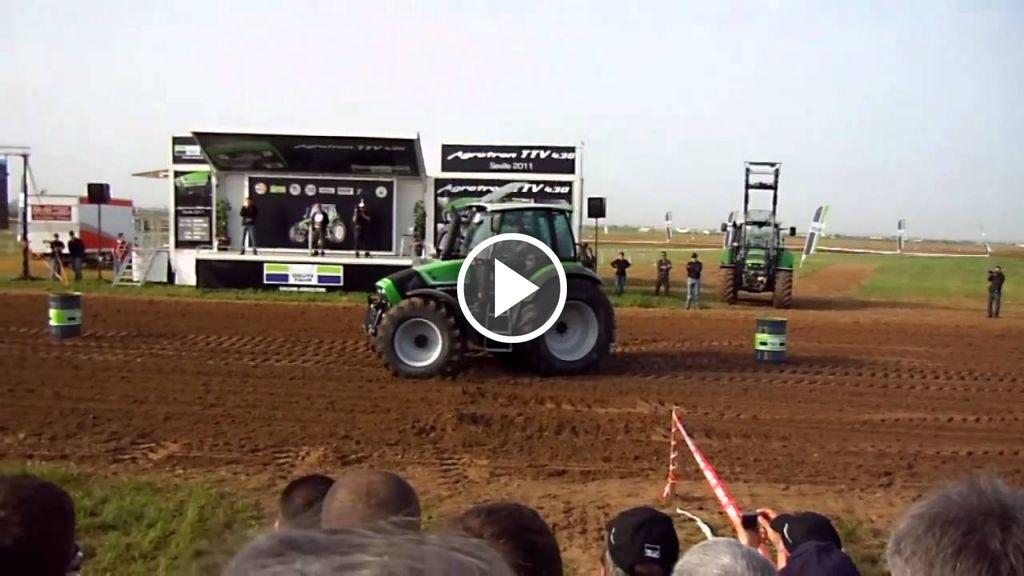Видео Deutz-Fahr agrotron TTV 430