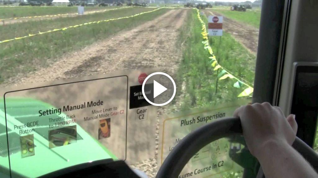 Video John Deere 7R serie
