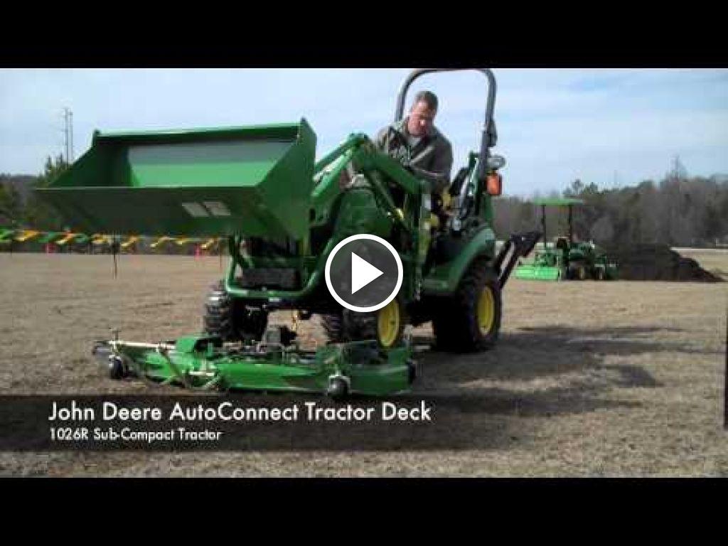 Video John Deere 1026R
