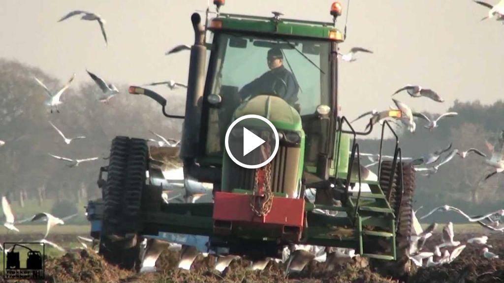 Wideo John Deere 8420 T