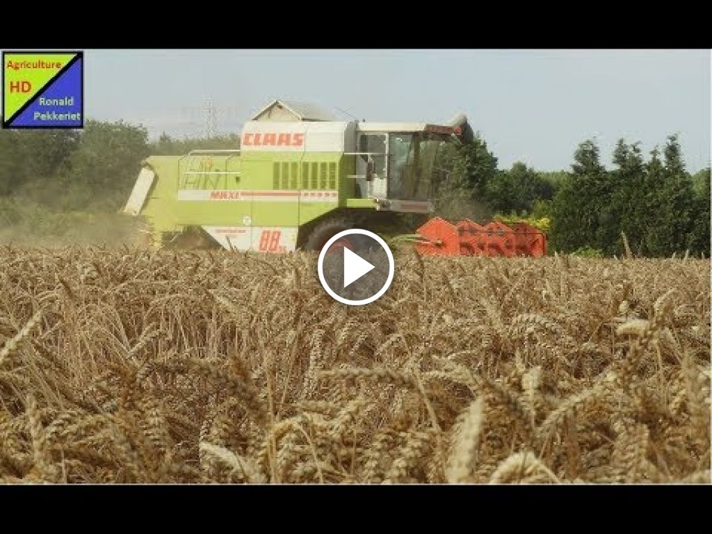 Video Claas Dominator 88