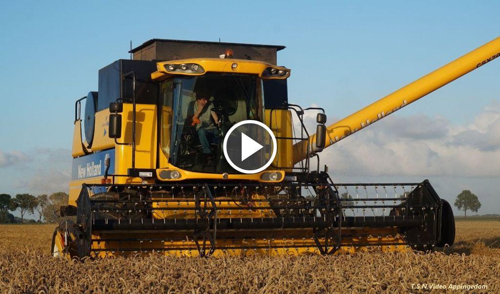 Video New Holland CSX7080