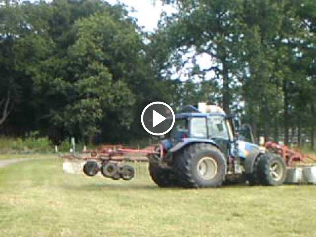 Video New Holland TL 90 A