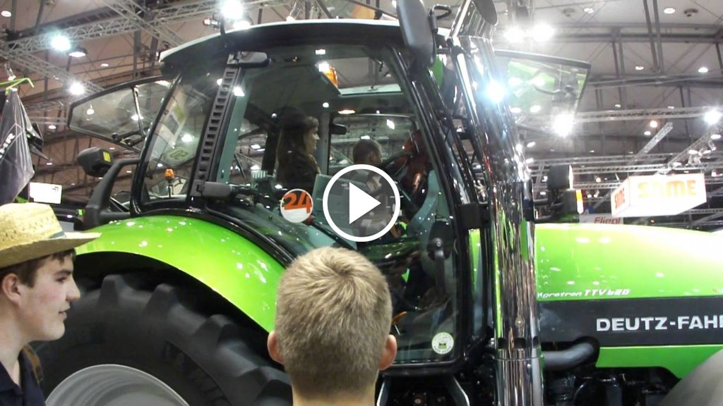 Video Deutz-Fahr Agrotron TTV 620 Special