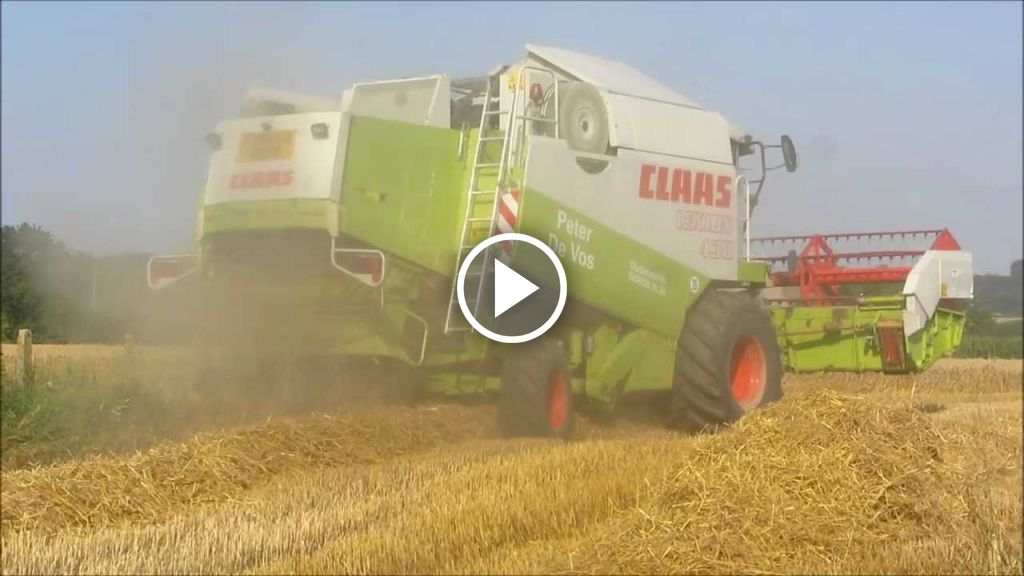 Video Claas Lexion 430