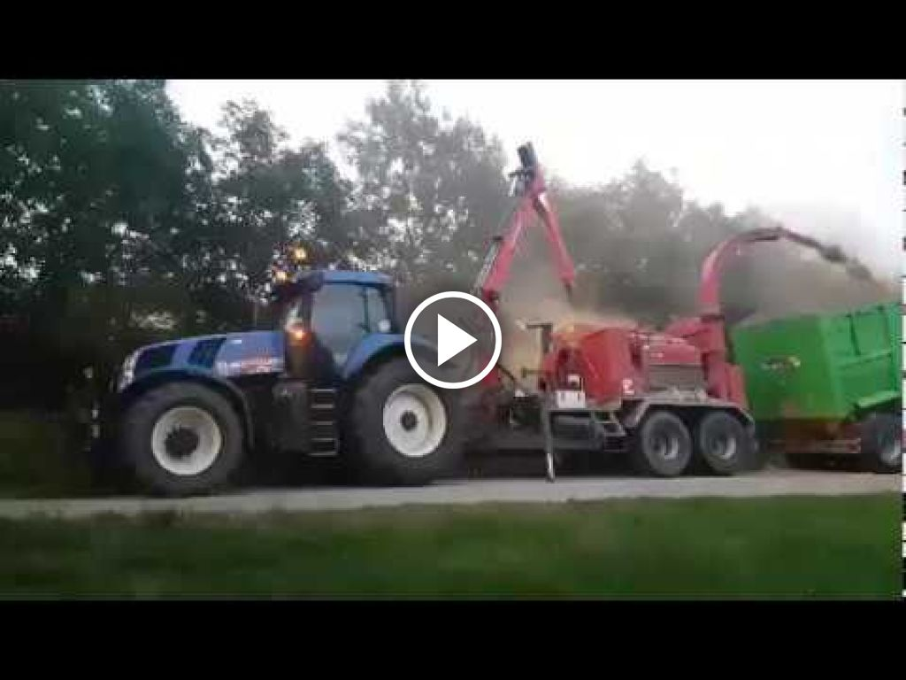 Video New Holland T 8.360