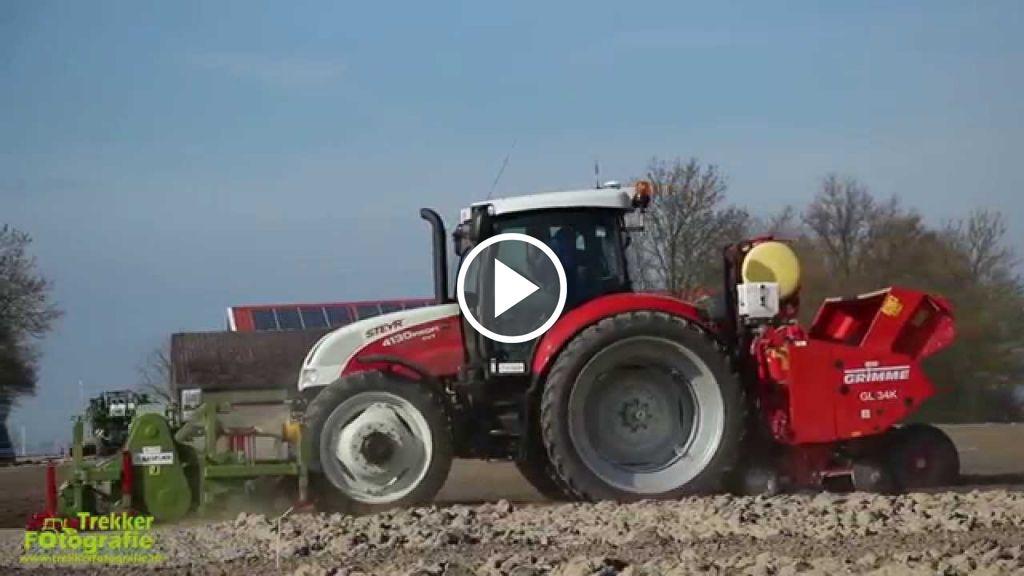 Videó Steyr Profi 4130 CVT