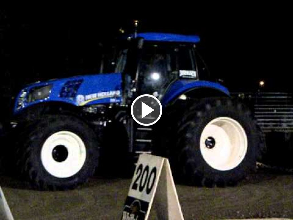 Video New Holland T 8.330