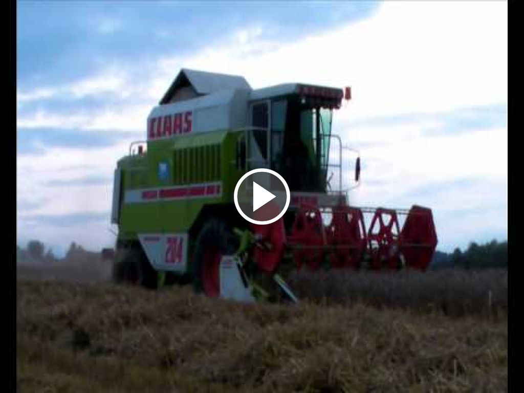 Video Claas Dominator 204
