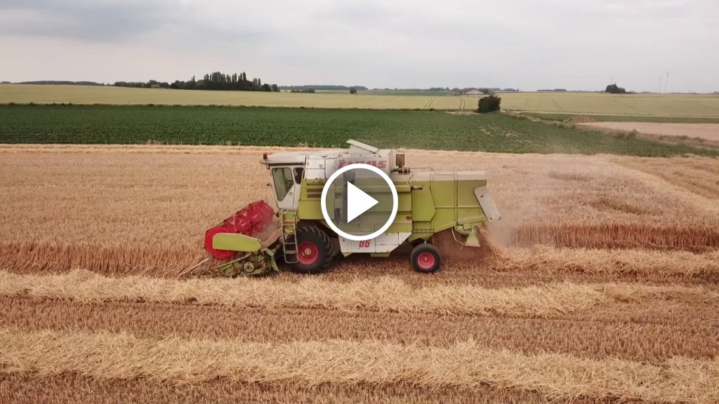 Video Claas Dominator 86