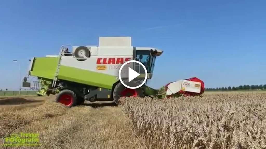 Video Claas Lexion 460
