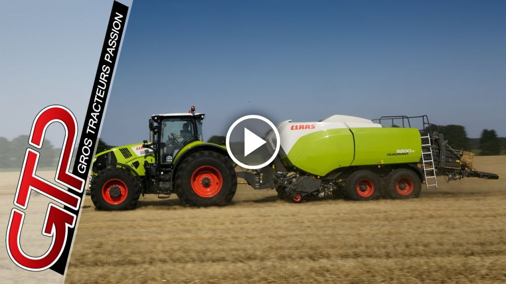 Video Claas Quadrant