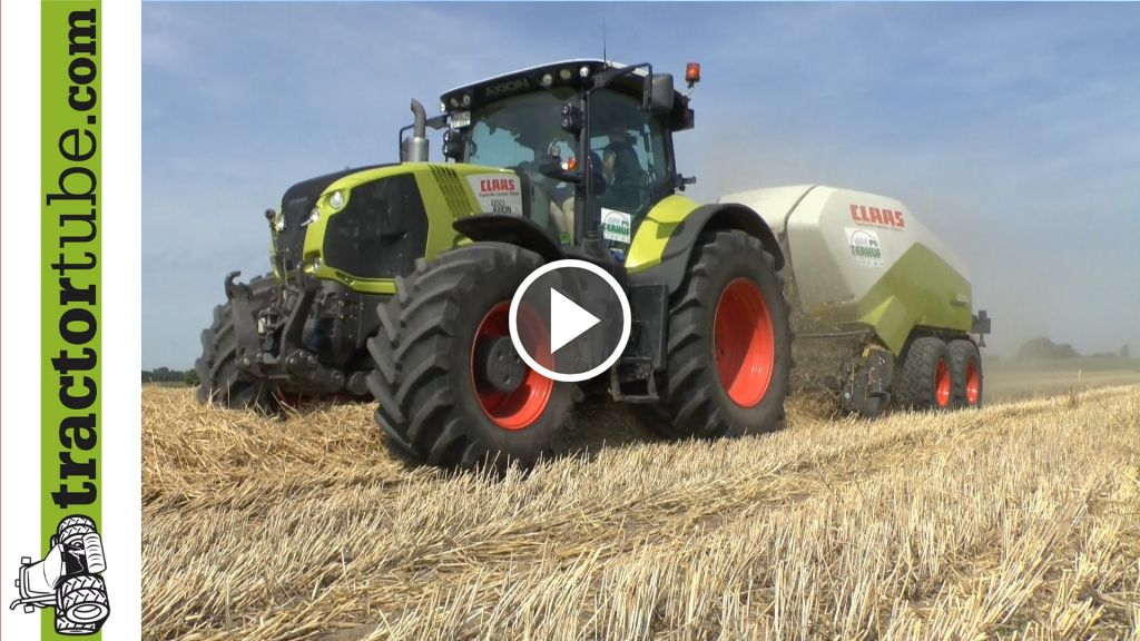 Video Claas Quadrant 3200