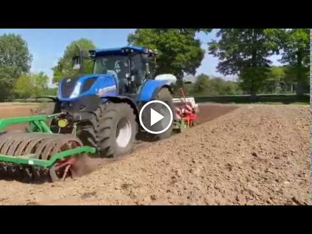 Video New Holland T 7.225
