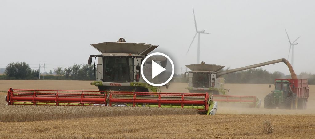 Video Claas Lexion 770