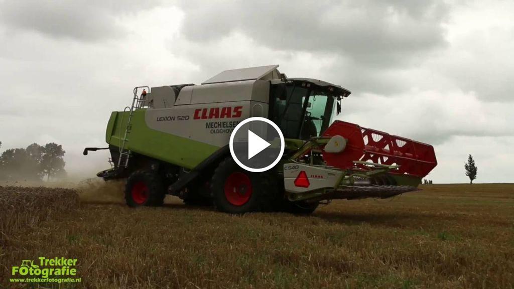 Video Claas Lexion 520