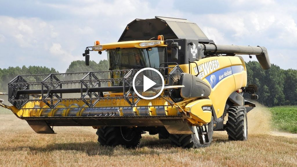 Video New Holland CX 860