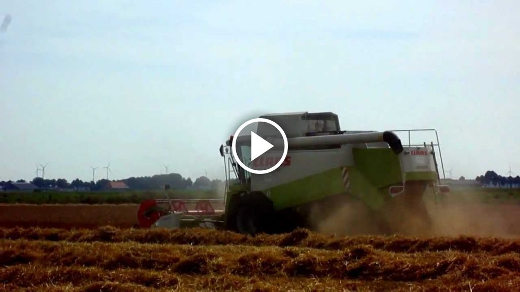 Video Claas Lexion Meerdere