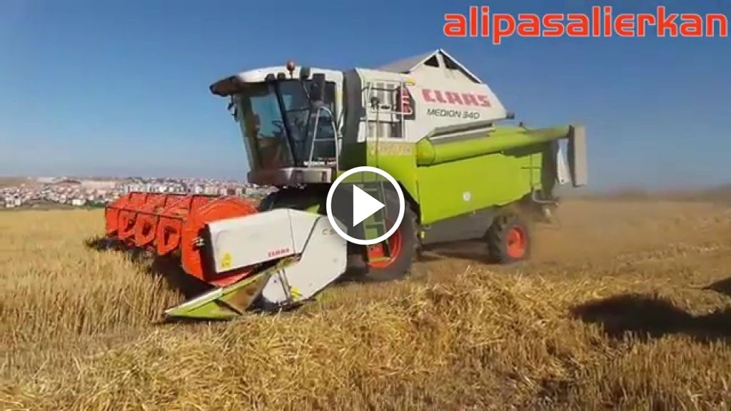 Video Claas Medion 340