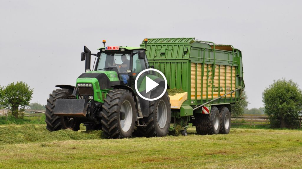 Video Deutz-Fahr Agrotron X 710
