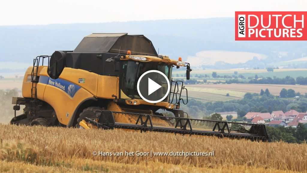 Video New Holland CX 8090