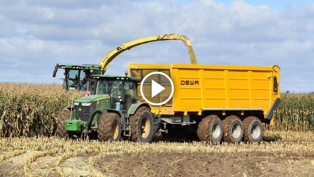 Video John Deere 8600