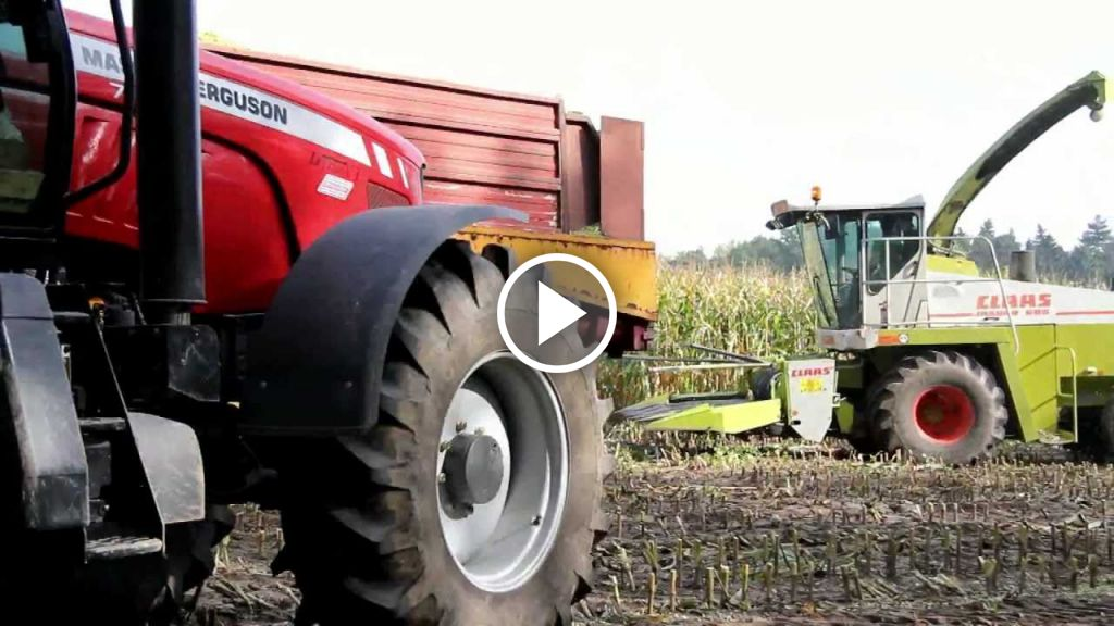 Video Claas Jaguar 695 Mega