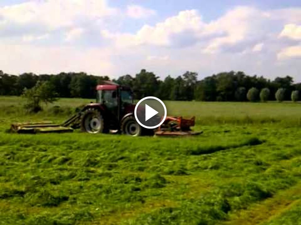 Wideo Case IH Maxxum MX 100C