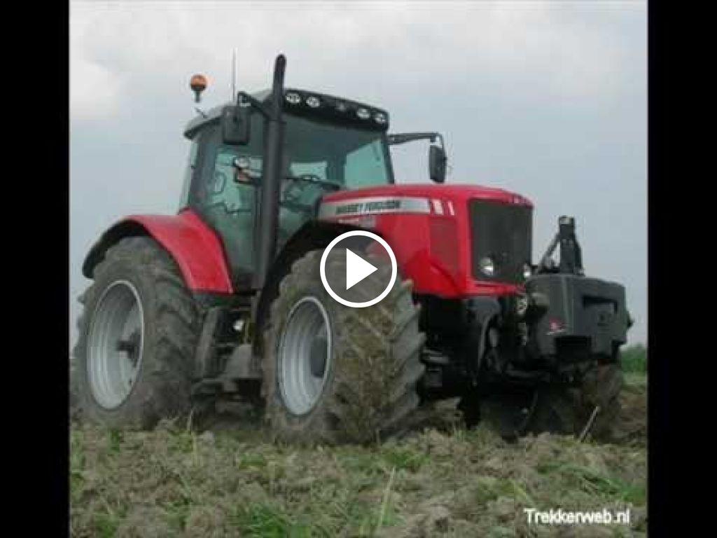 Vidéo Massey Ferguson 6495 Dyna-6