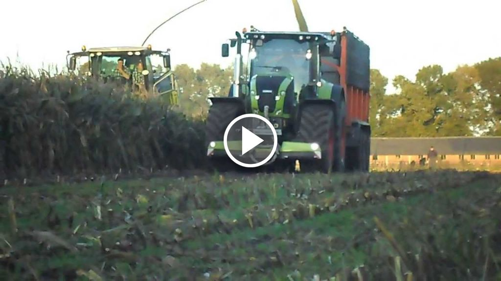 Video Claas Axion 950