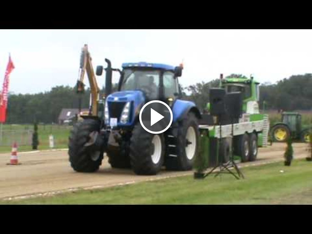 Video New Holland T 8010