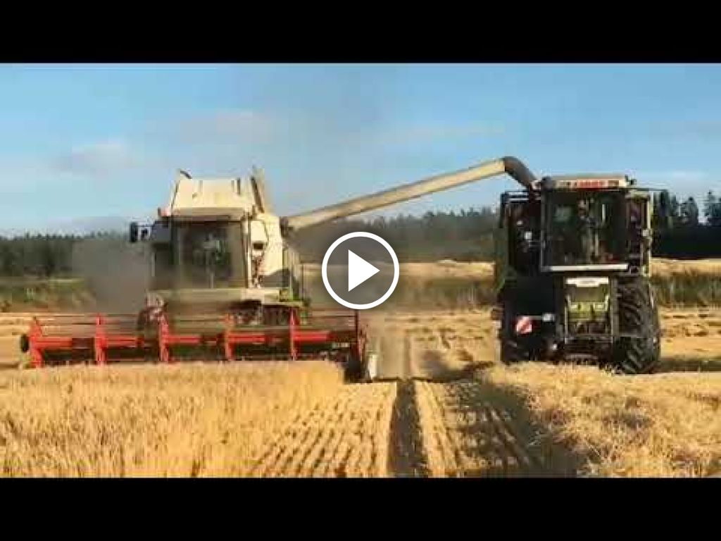 Video Claas Xerion 2500