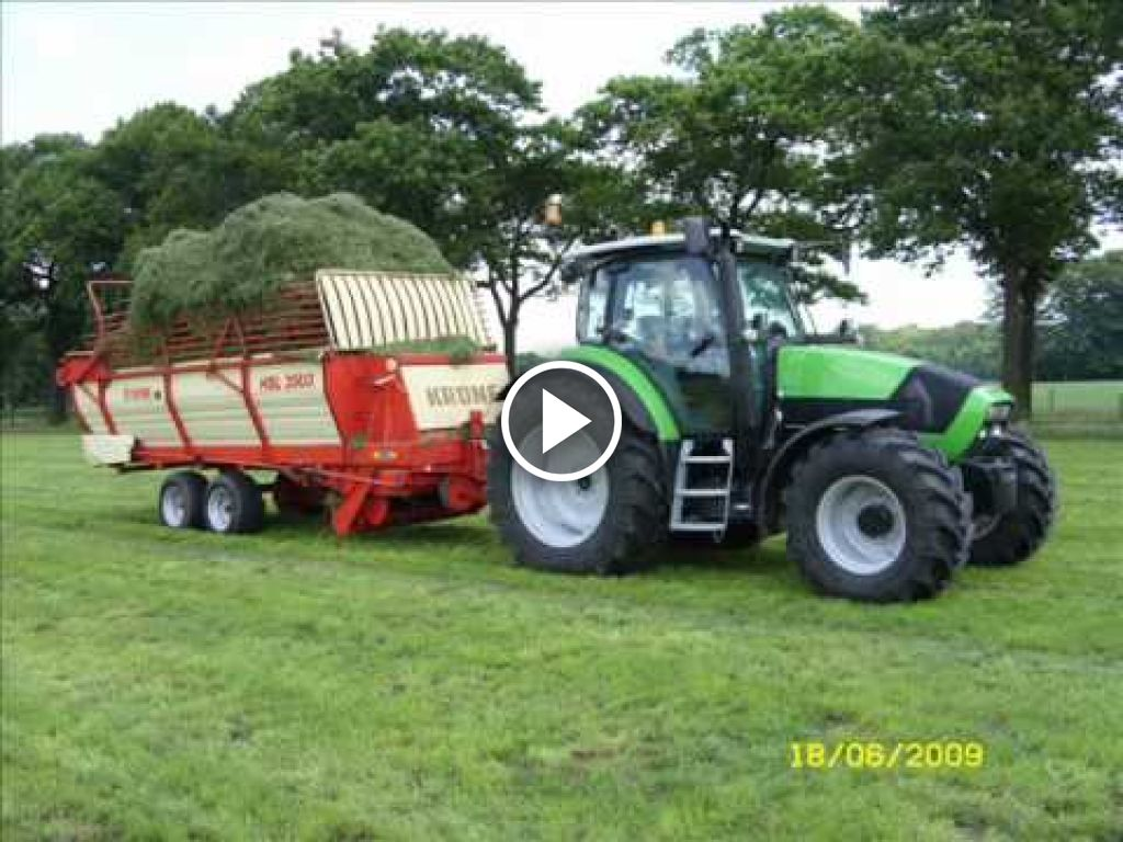 Wideo Deutz-Fahr Agrotron K 610