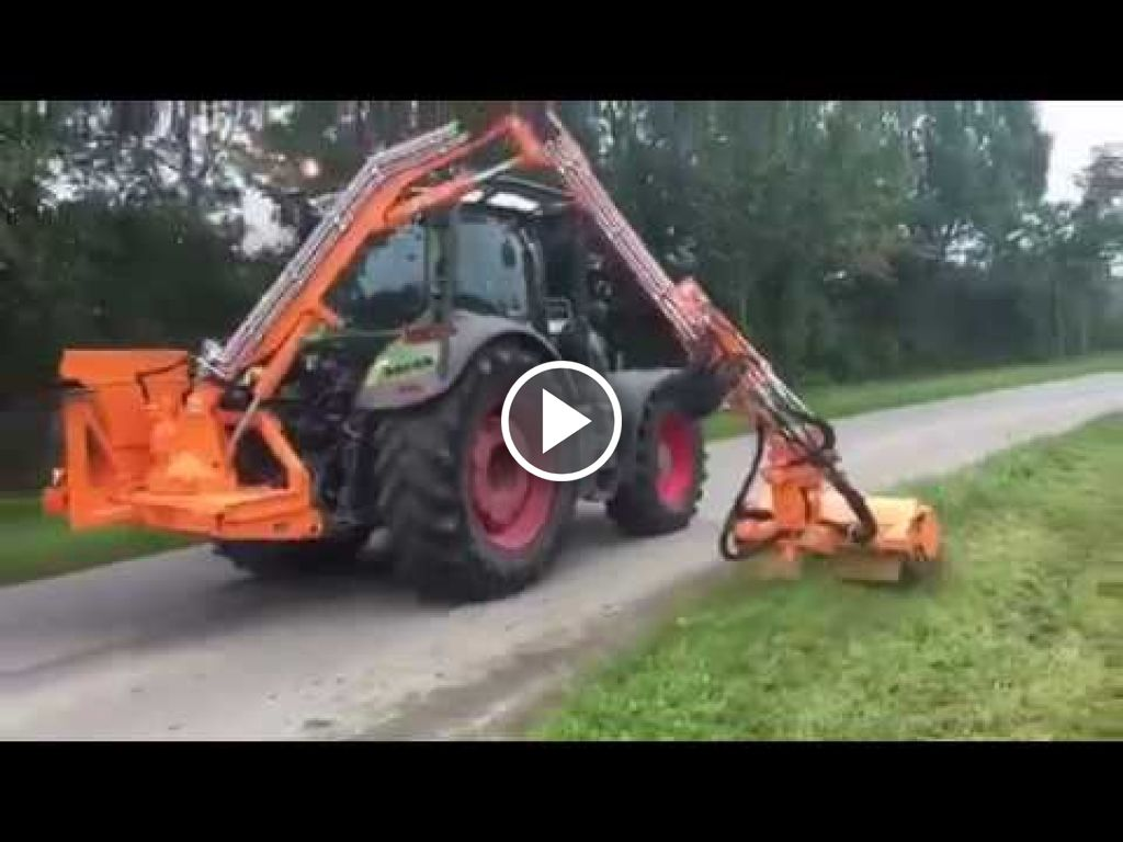 Wideo Fendt 718 SCR