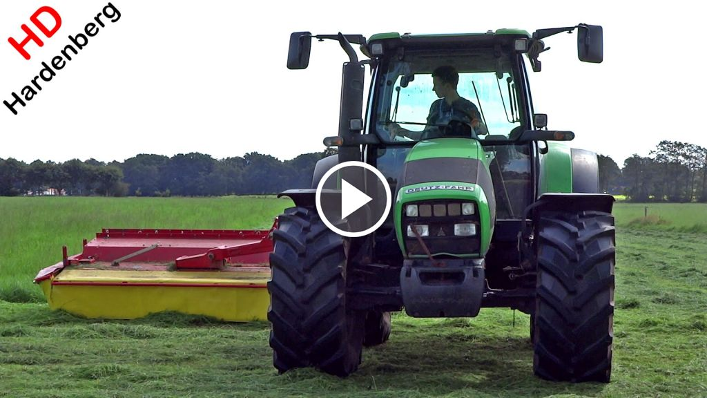 Video Deutz-Fahr Agrotron K 100