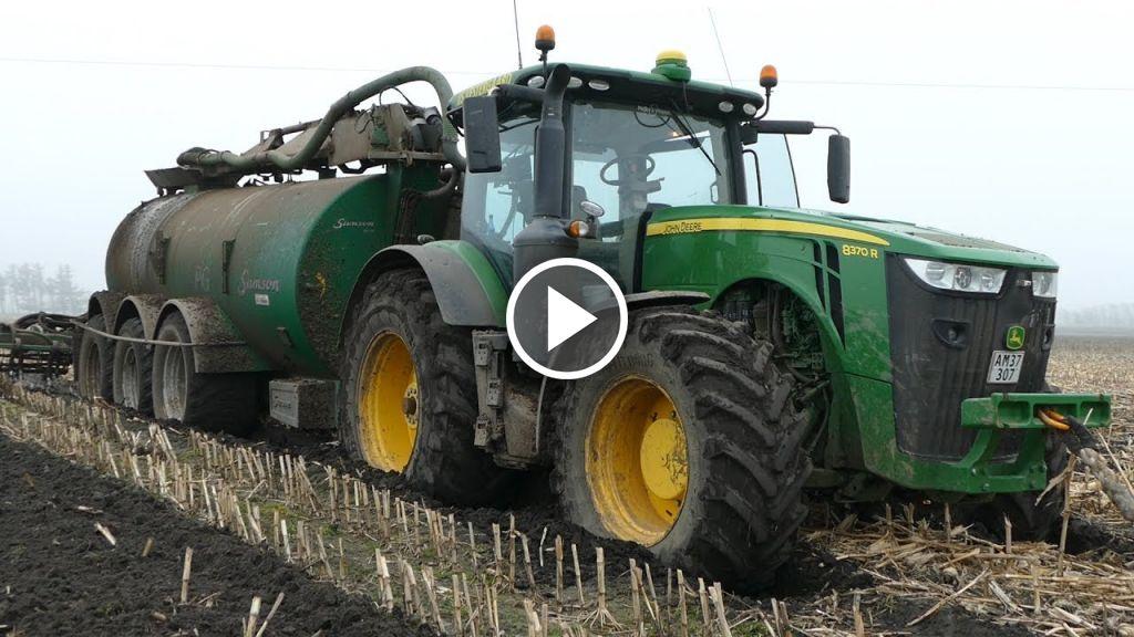 Wideo John Deere 8370R