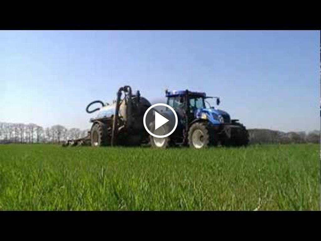Video New Holland T 7540