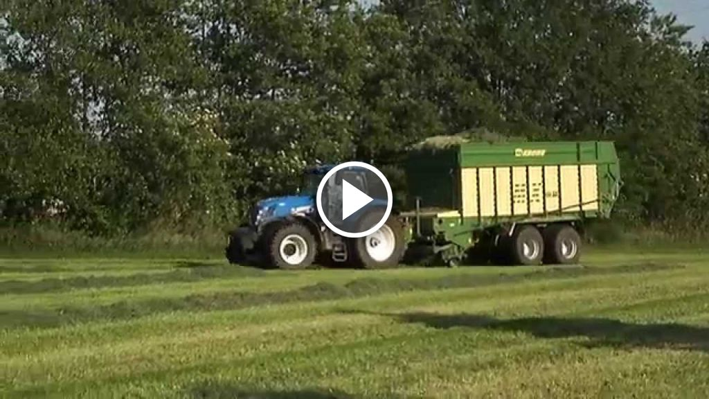 Video New Holland T 7.250