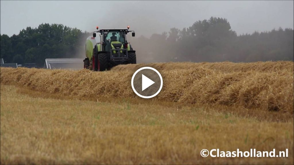 Video Claas Quadrant 5200