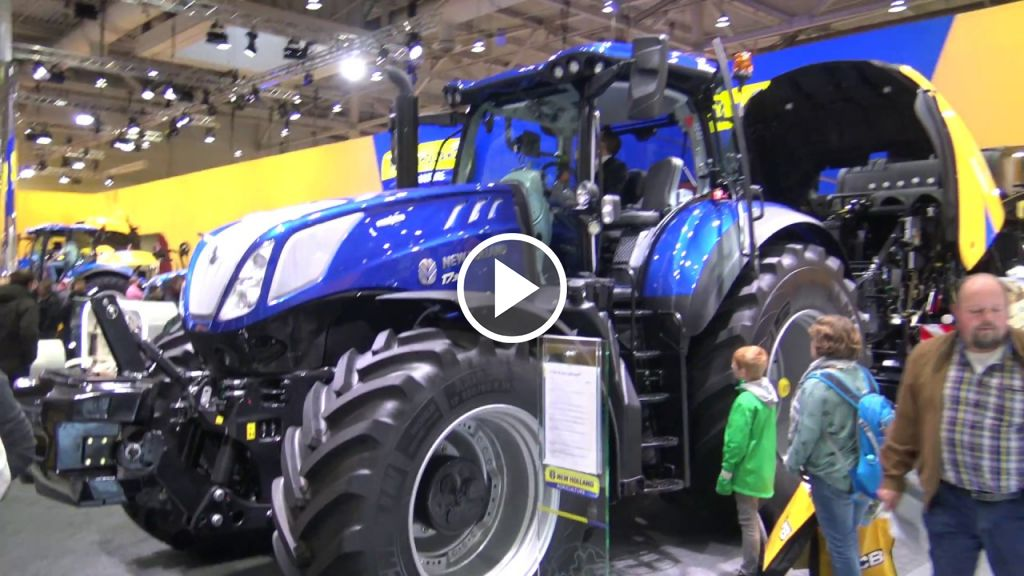 Video New Holland T 8.435