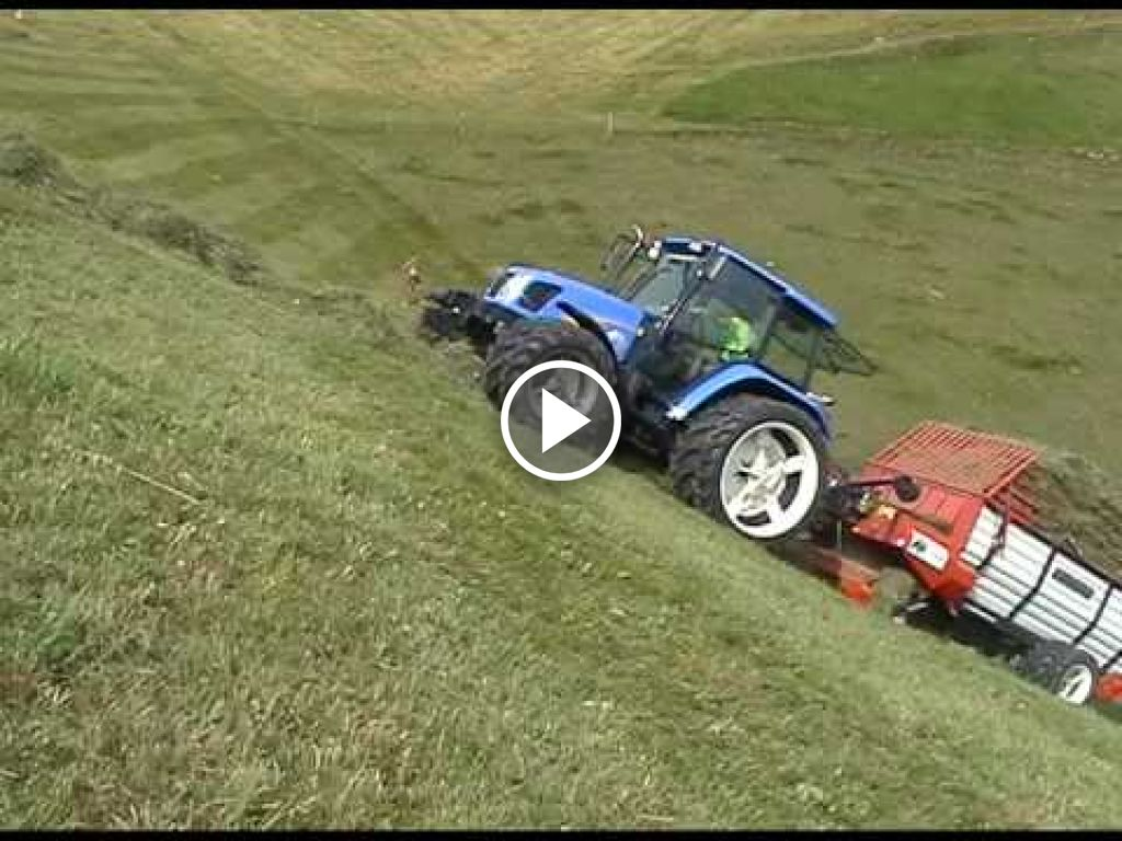 Video New Holland T 5000
