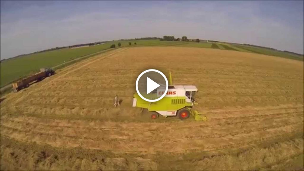 Video Claas Dominator 98 SL
