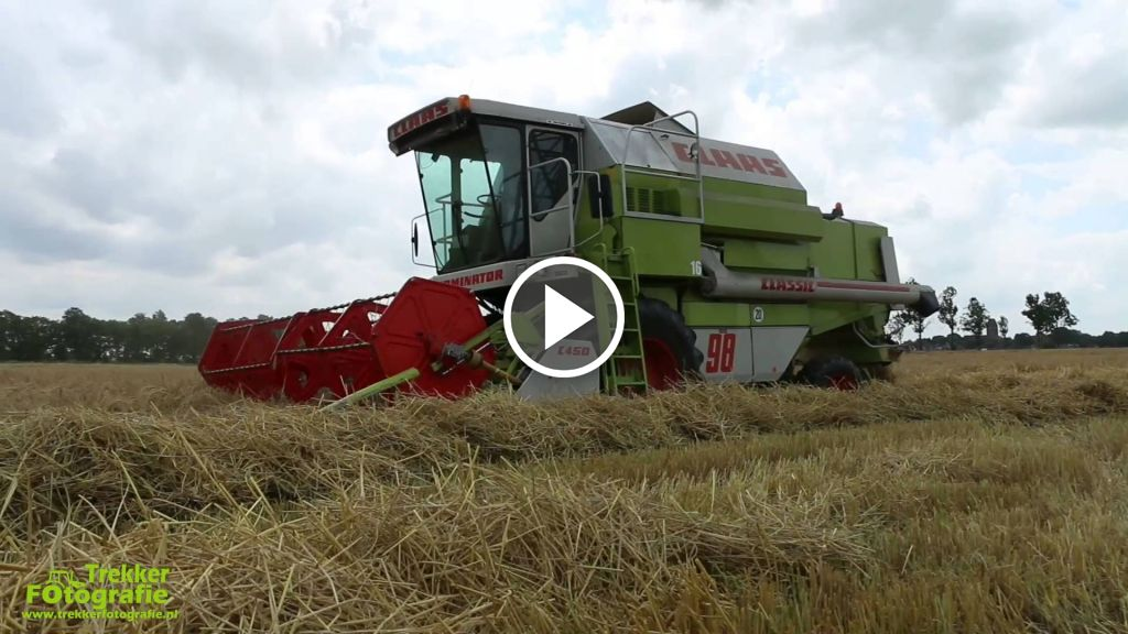 Video Claas Dominator 98
