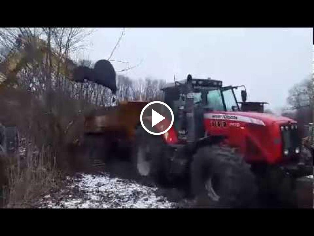 Vidéo Massey Ferguson 8470