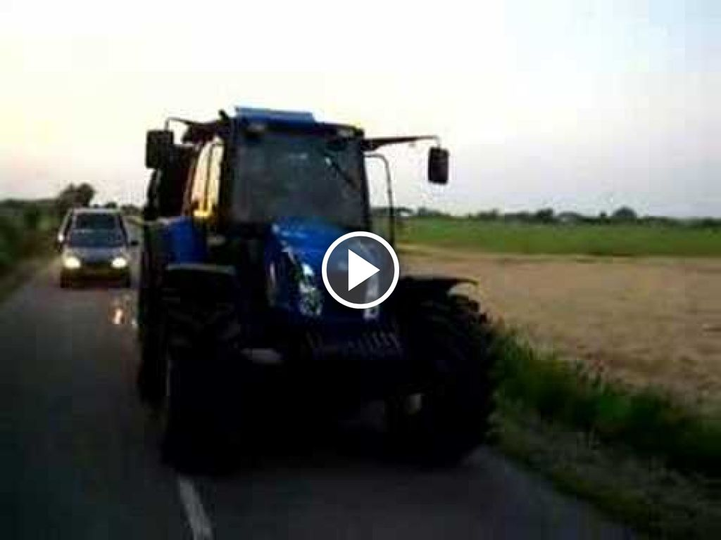Video New Holland TL 90 A
