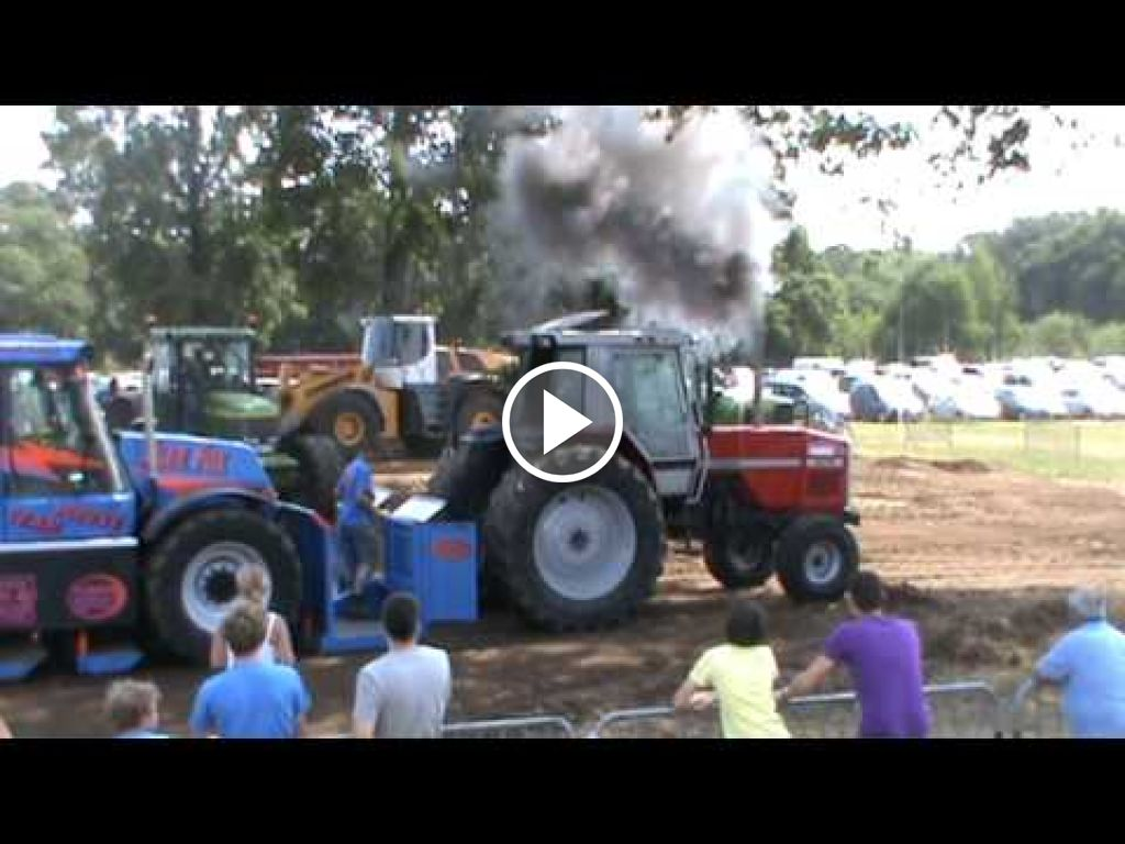 Vidéo Massey Ferguson 3670