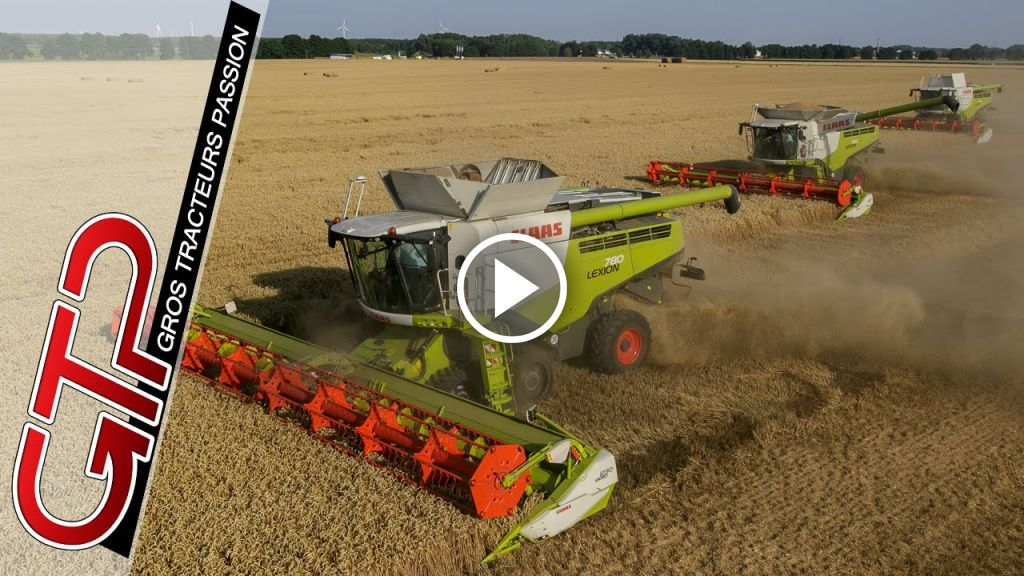 Video Claas Lexion 780