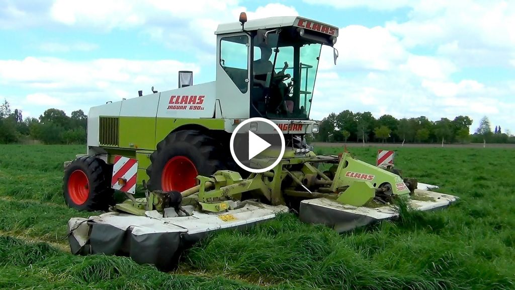 Video Claas Jaguar 690 SL
