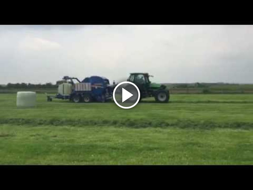 Wideo Deutz-Fahr Agrotron 155